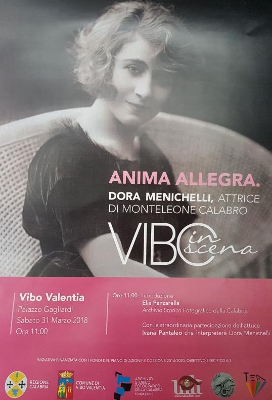 Vibo in scena - Anima Allegra Vibo Valentia - Palazzo Gagliardi - 31 Marzo 2018 Ore 11