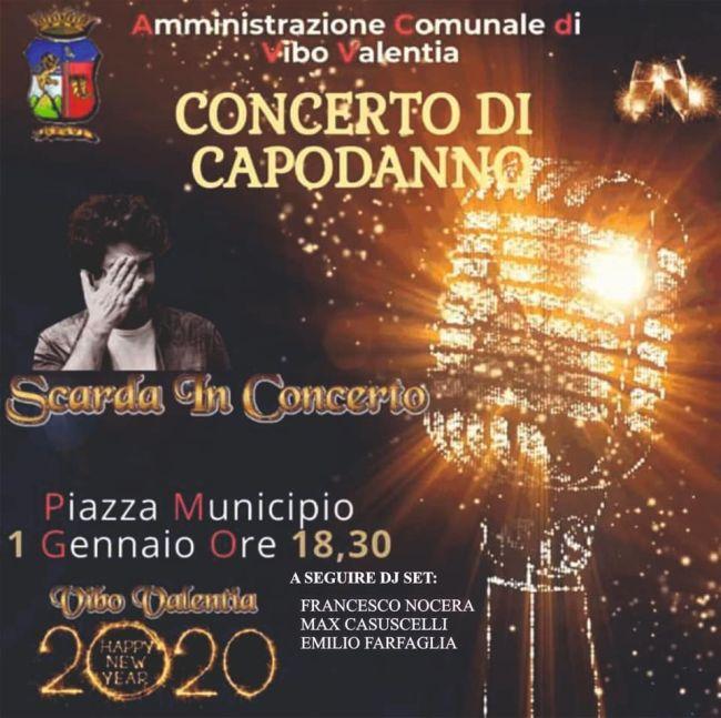 Concerto di Capodanno - Piazza Municipio 1 Gennaio ore 18,30