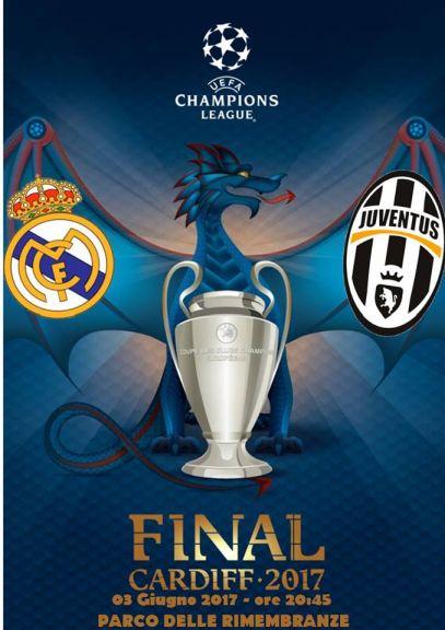 Real Madrid vs Juventus con maxi-schermo e salsicciata! - 3 Giugno -  dalle ore 20:45 - Parco Delle Rimebranze