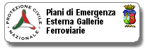 Piani di Emergenza Esterna Gallerie Ferroviarie Della Provincia di Vibo Valentia